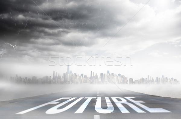 Future against open road Stock photo © wavebreak_media