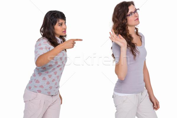 Casual friends quarreling together  Stock photo © wavebreak_media
