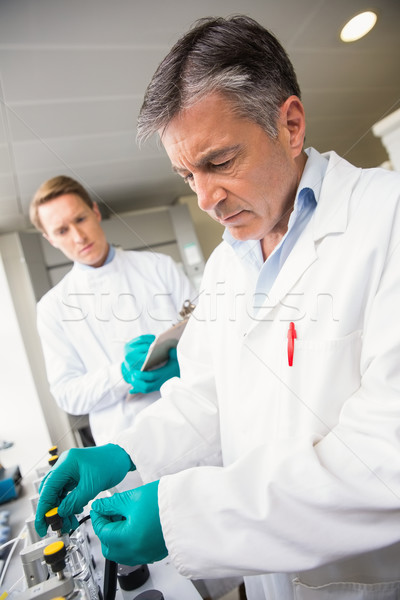 Team of scientists working together  Stock photo © wavebreak_media