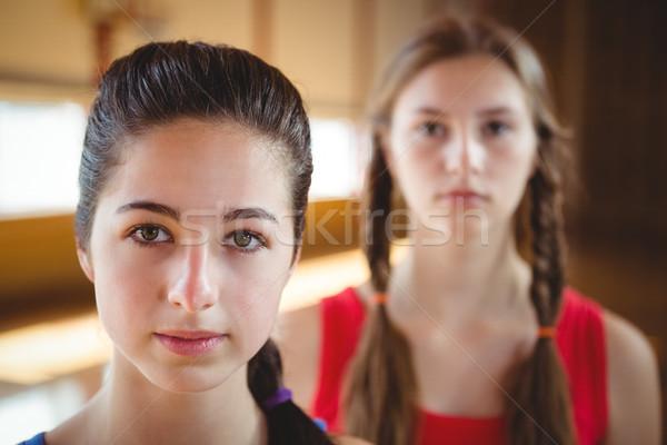 Close up of female basketball players  Stock photo © wavebreak_media