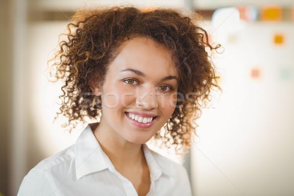 улыбаясь деловая женщина портрет служба бизнеса работу Сток-фото © wavebreak_media