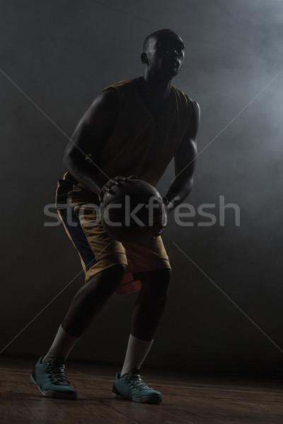 Portrait of basketball player preparing to score  Stock photo © wavebreak_media