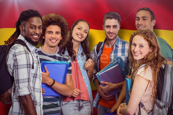 Immagine sorridere gruppo studenti Foto d'archivio © wavebreak_media