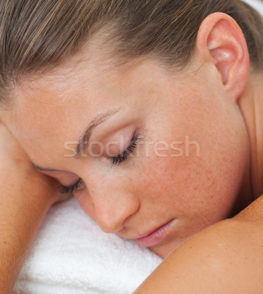 Woman relaxing in a spa center  Stock photo © wavebreak_media