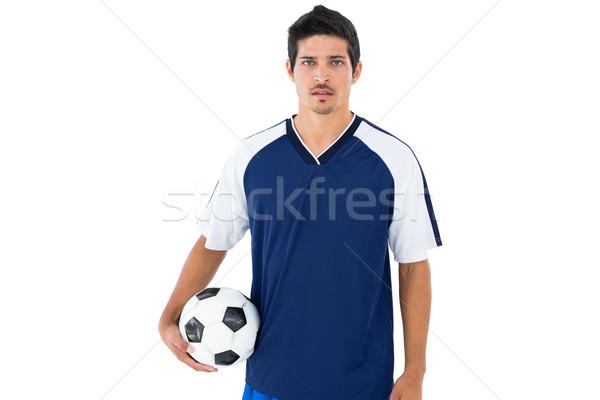 Niebieski piłka biały sportu Zdjęcia stock © wavebreak_media