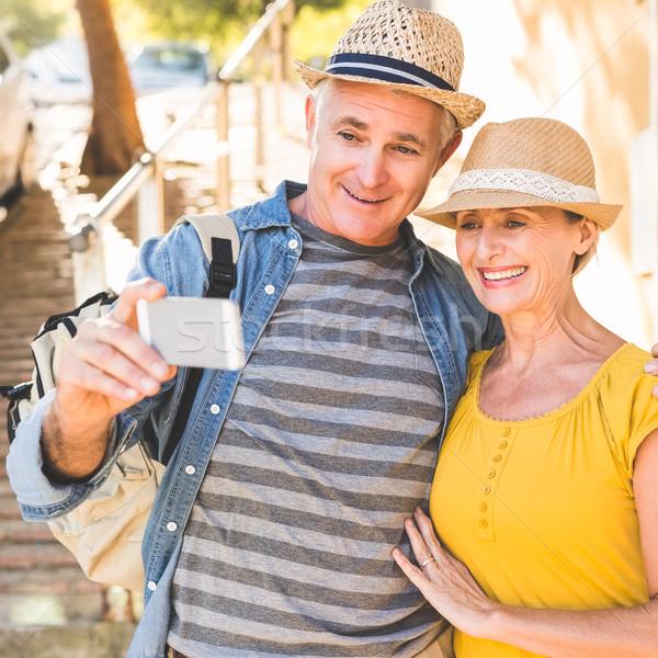 счастливым зрелый пару вместе город Сток-фото © wavebreak_media