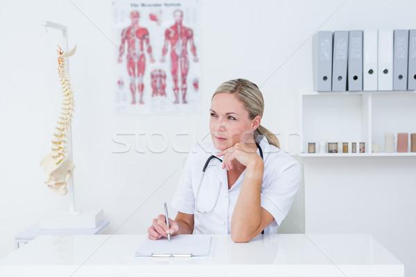 Doktor yazı büro tıbbi ofis Stok fotoğraf © wavebreak_media