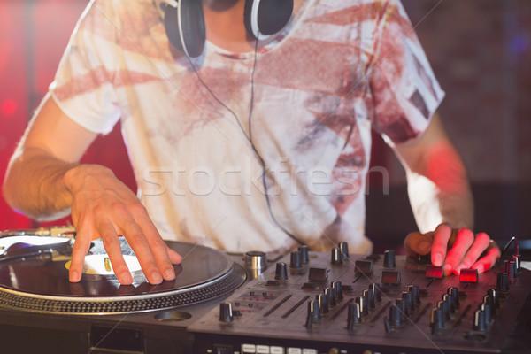 Hideg zene buli bár éjszaka klub Stock fotó © wavebreak_media