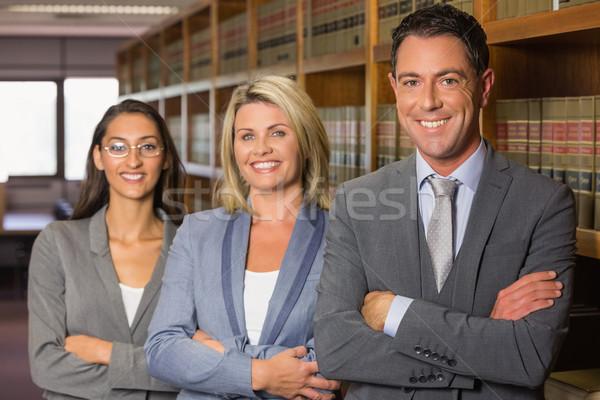 Avvocati legge biblioteca Università libro scuola Foto d'archivio © wavebreak_media