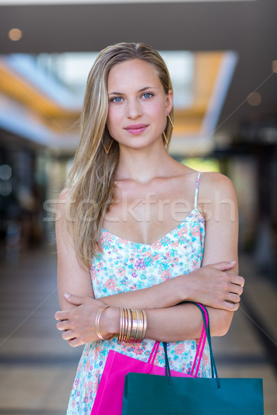 Portrait of smiling woman with arms crossed Stock photo © wavebreak_media