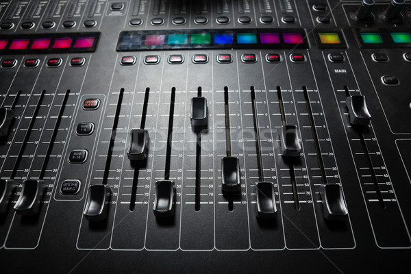 звук смеситель музыку службе Сток-фото © wavebreak_media
