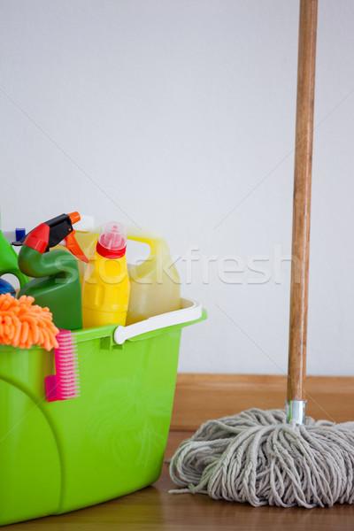 Limpeza equipamento parede casa garrafa Foto stock © wavebreak_media