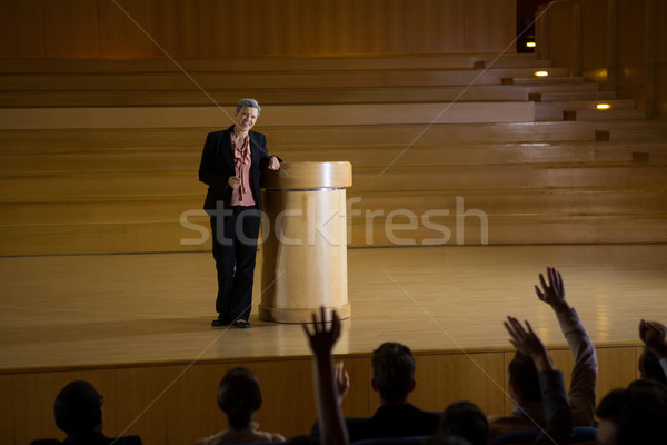 Business executives actively participating Stock photo © wavebreak_media