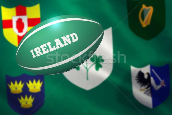 Obraz Irlandia rugby ball różny Zdjęcia stock © wavebreak_media