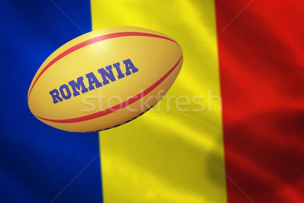Imagem Romênia branco azul Foto stock © wavebreak_media