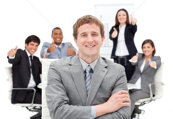 国際ビジネス 人 女性 笑顔 幸せ ストックフォト © wavebreak_media