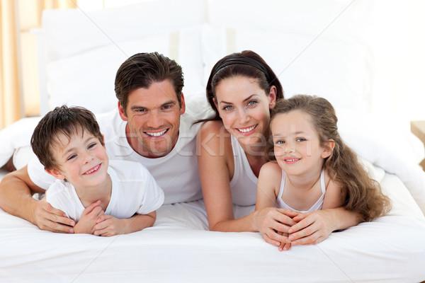 Sorridere famiglia donna amore madre Foto d'archivio © wavebreak_media