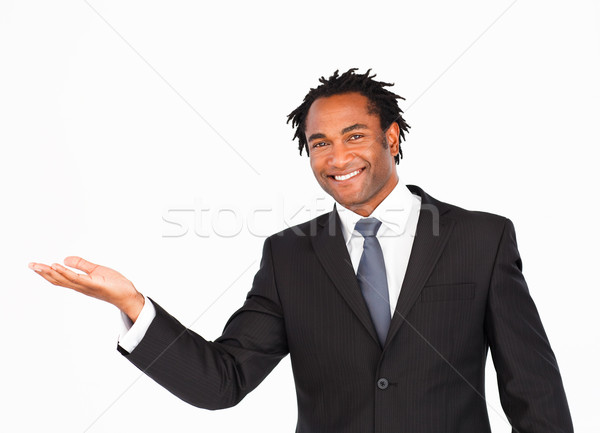 Smiling businessman offering his hand  Stock photo © wavebreak_media