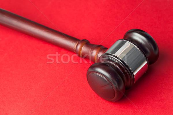 молоток красный прав Сток-фото © wavebreak_media