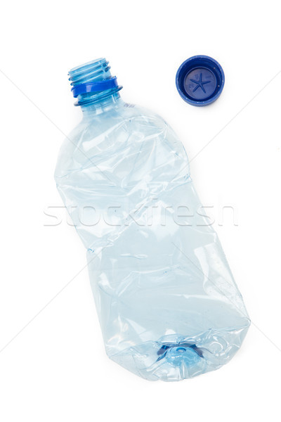 Recyclable plastique bouteille blanche propre recycler Photo stock © wavebreak_media