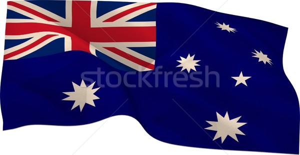 Généré Australie pavillon blanche Photo stock © wavebreak_media