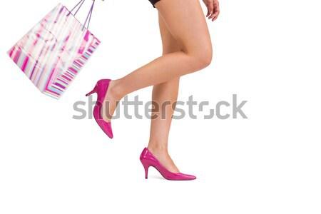 脚 ハイヒール 白 女性 ファッション ボディ ストックフォト © wavebreak_media
