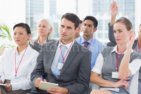 Stock photo: Business people during meeting
