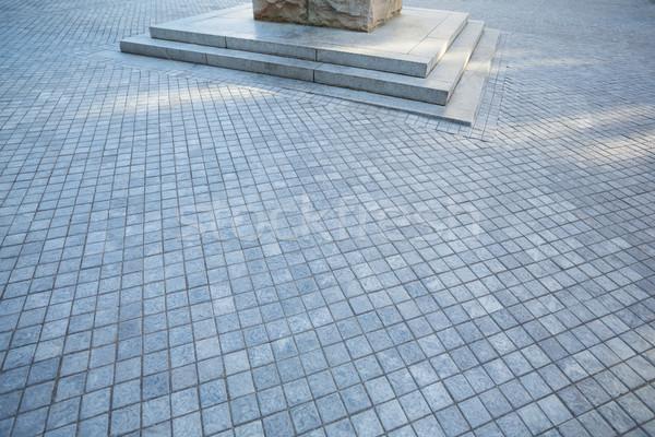 Grey pavement near column Stock photo © wavebreak_media