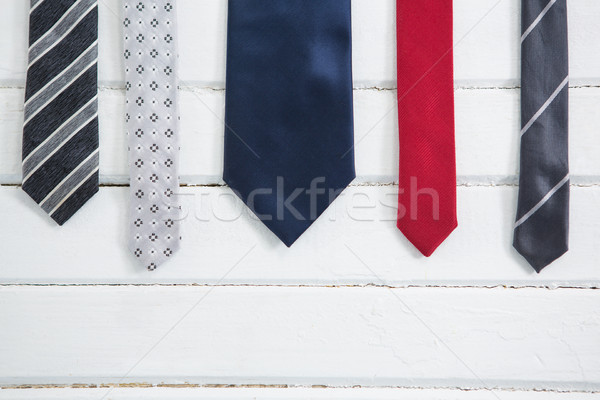Close up of multi colored necktie Stock photo © wavebreak_media