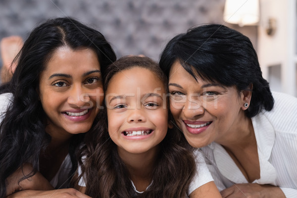 Portrait of multi-generation family at home Stock photo © wavebreak_media