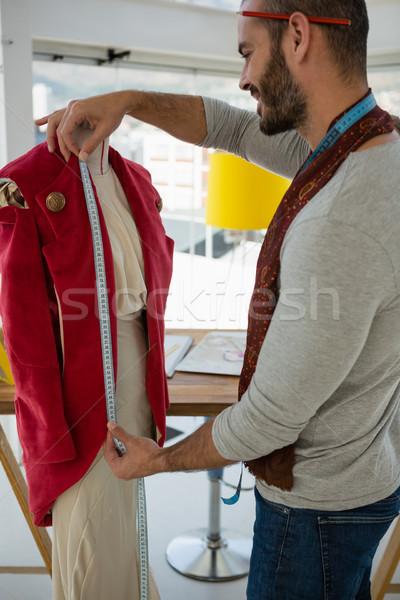 Designer giacca mannequin studio business Foto d'archivio © wavebreak_media