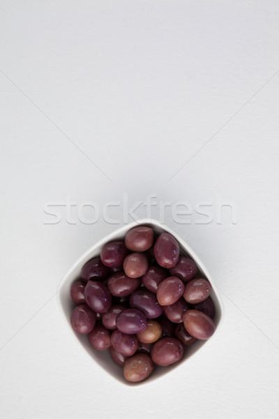 Directly above shot of brown olives Stock photo © wavebreak_media