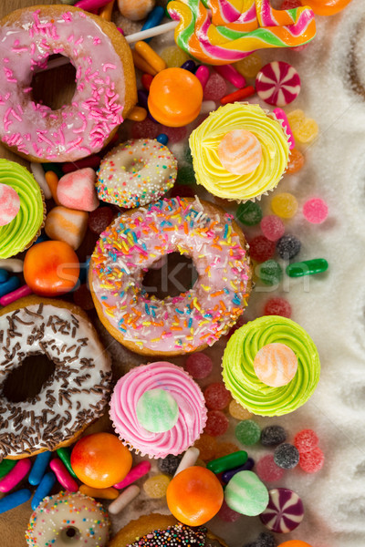 Close-up of various confectionary Stock photo © wavebreak_media