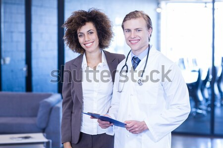 портрет врач хирург больницу женщину человека Сток-фото © wavebreak_media