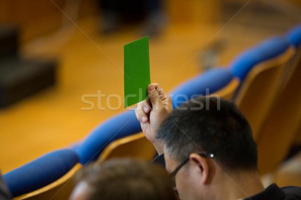 бизнеса исполнительного утверждение стороны бумаги человека Сток-фото © wavebreak_media