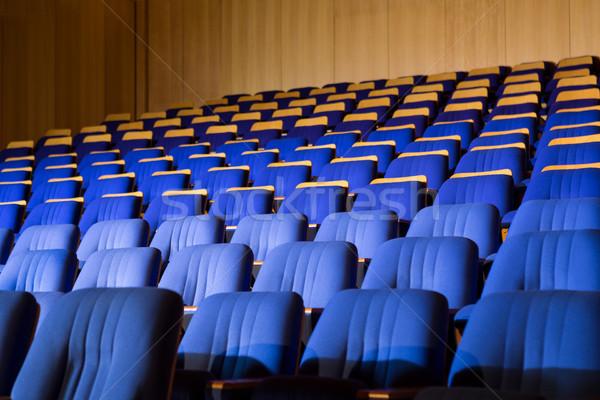 Interior of conference auditorium Stock photo © wavebreak_media