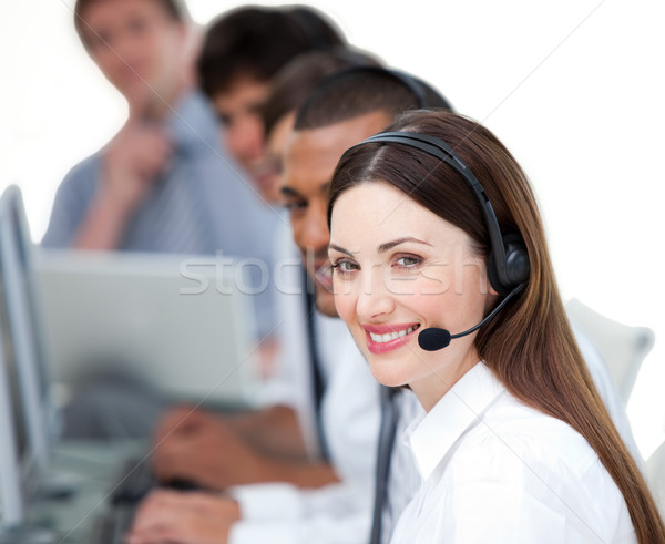 United business team working in a call center Stock photo © wavebreak_media
