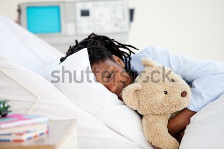 больницу мишка ребенка только Сток-фото © wavebreak_media