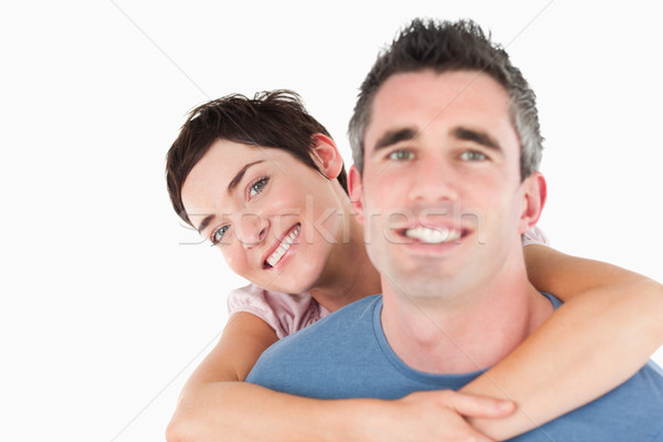 Mujer marido blanco amor Pareja Foto stock © wavebreak_media