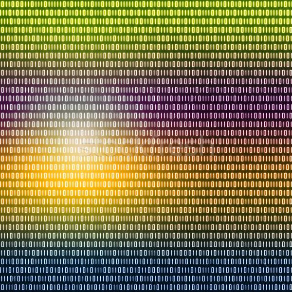 Tarka bináris kód írott fekete technológia háttér Stock fotó © wavebreak_media