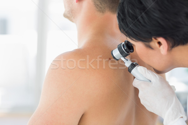 врач моль назад человека женщины Сток-фото © wavebreak_media