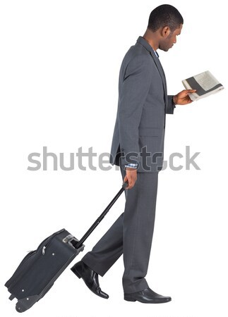 Businessman walking and holding briefcase  Stock photo © wavebreak_media