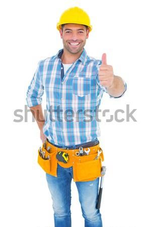 Retrato manual trabajador blanco Foto stock © wavebreak_media