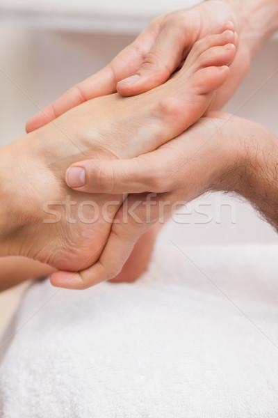 Stok fotoğraf: Ayaklar · çalışmak · güzellik · hizmet