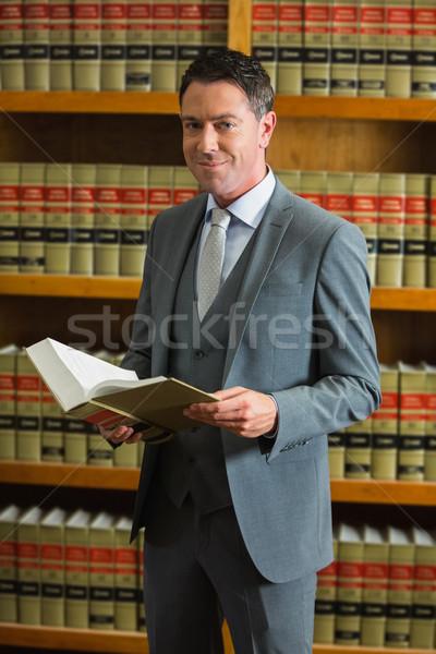 Avvocato libro legge biblioteca Università Foto d'archivio © wavebreak_media