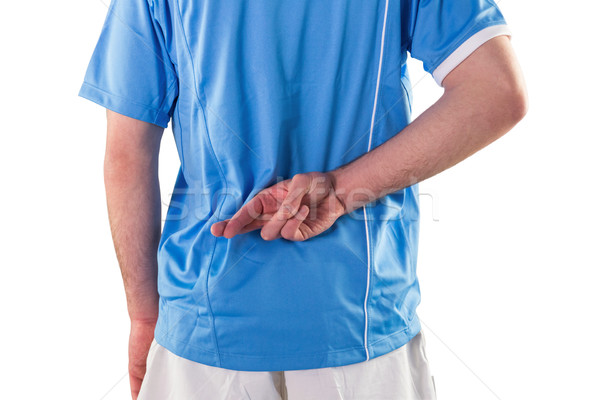 Rugby jogador dedos ver de volta esportes Foto stock © wavebreak_media