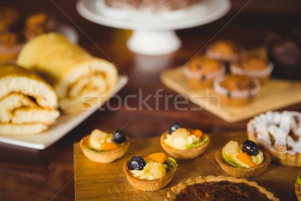 いくつかの カウンタ コーヒーショップ 食品 コーヒー ストックフォト © wavebreak_media