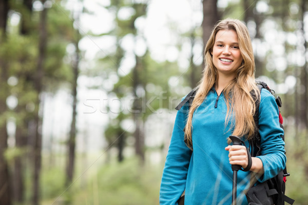 Portrait of a young pretty hiker Stock photo © wavebreak_media