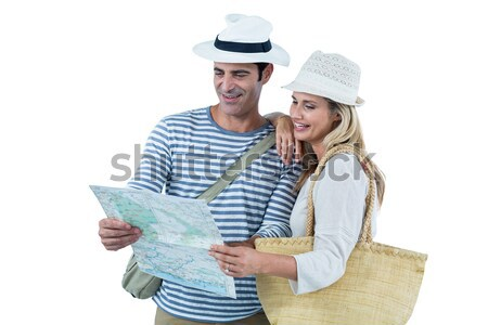 Cheerful couple taking selfie Stock photo © wavebreak_media