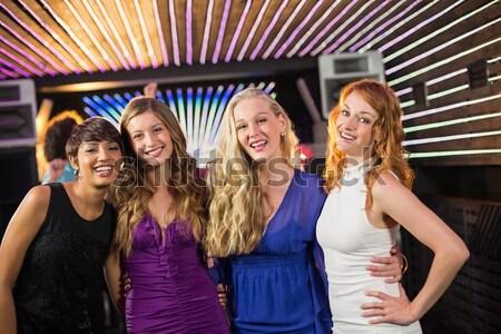 Csoport barátok énekel dal együtt bár Stock fotó © wavebreak_media